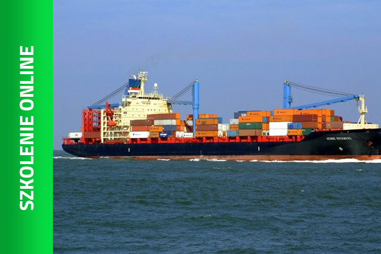 Szkolenie Szkolenie online: Przewozy kontenerowe - transport morski