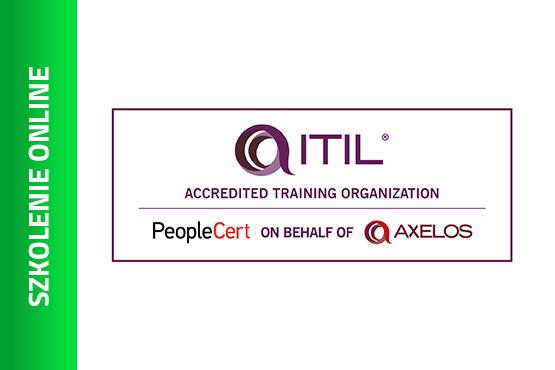 Szkolenie Szkolenie online: ITIL®4 Foundation – szkolenie akredytowane z egzaminem