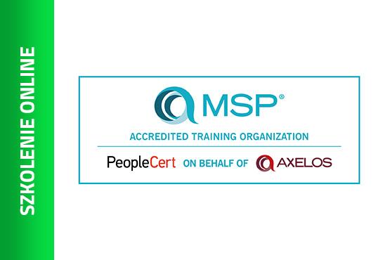 Szkolenie Szkolenie online: MSP® Foundation